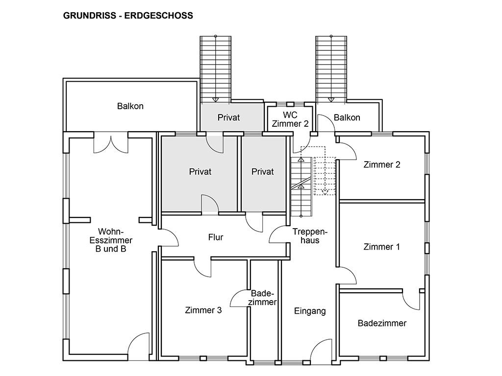 Grundrisse - Erdgeschoss