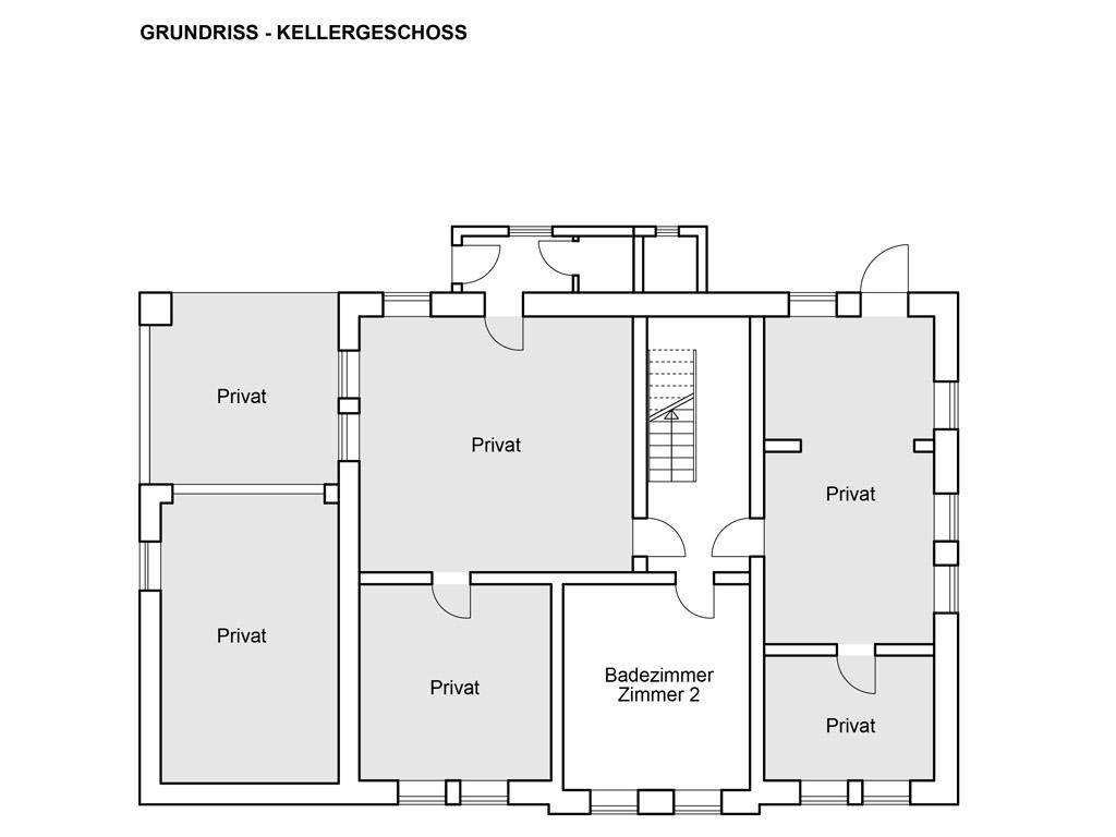 Grundrisse - Kellergeschoss
