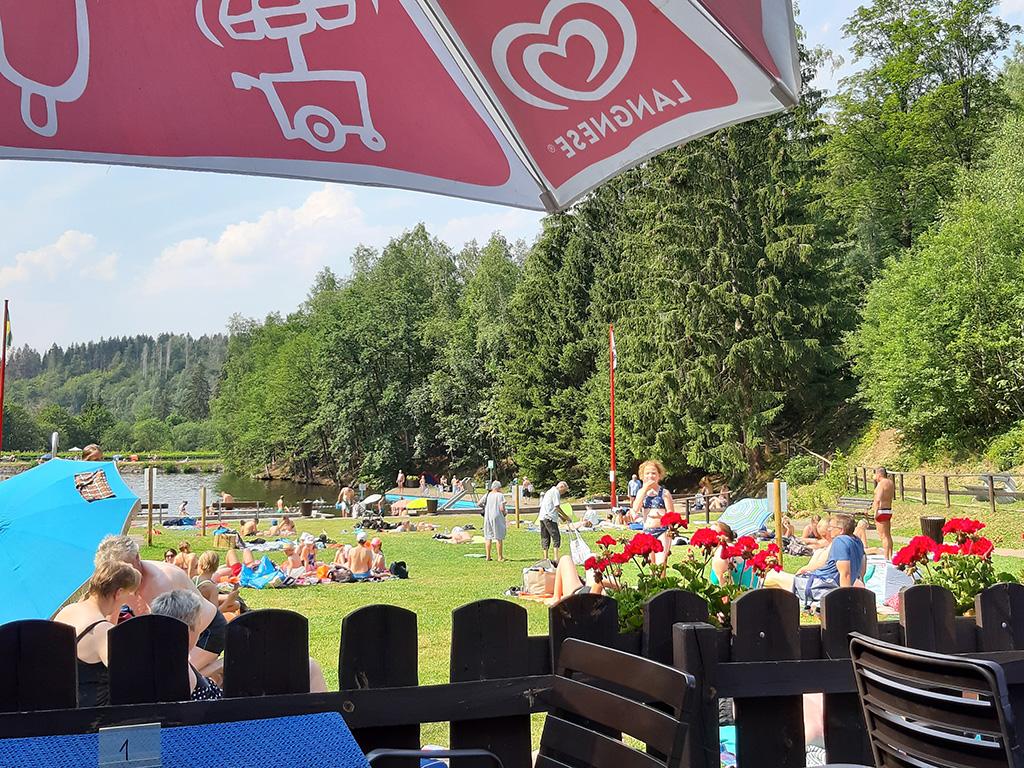 Forest swimming pool Altenau